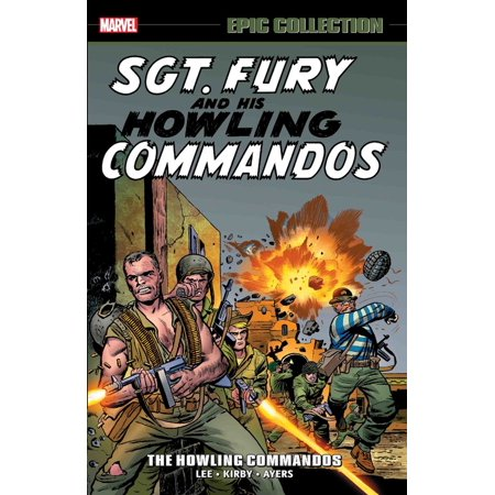 Sgt Frog Graphic Novel - Sgt. Fury Epic Collection: The Howling Commandos