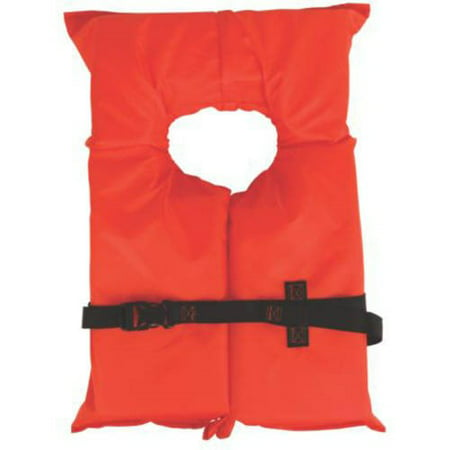 Stearns Adult Type II Life Jacket, Orange