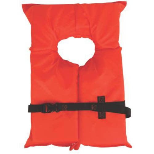 Coleman Stearns Adult Type II Life Jacket, Orange