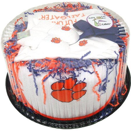 Clemson Tiger Baby Fan Cake Clothing Gift - Pangea Fan Cakes