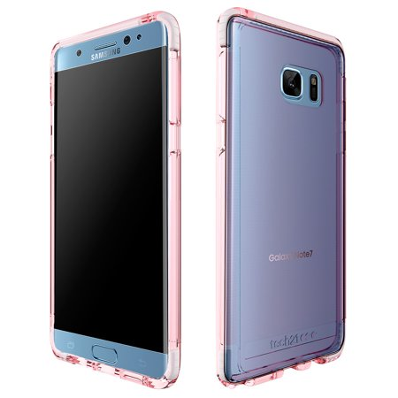 new concept 70f2c 595ba 2 x Tech21 EVO Frame Case for Samsung GALAXY Note7 - Rose Tint/White