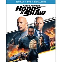 Fast & Furious Presents: Hobbs & Shaw (Blu-ray + DVD + Digital Copy)