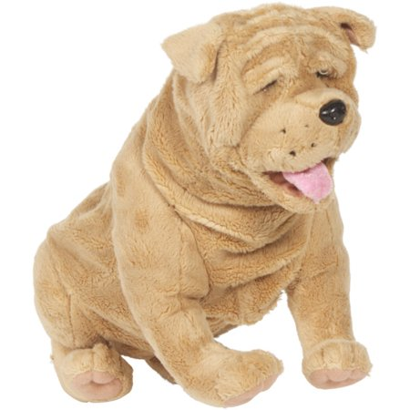 Sunny Toys NP8050 15 In. Shar Pei - Sitting, Animal Puppet](Animal Puppets)