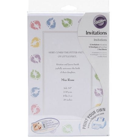 Wilton Baby Shower Invitation Kit, 1 Ct