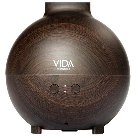 Phil Wood Tenacious Oil - Extra Large Essential Oil Diffuser Holds a BIG 20 FL OZ / 600 ml. (Dark Wood)