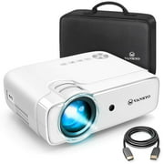 """VANKYO Leisure 430 Mini Movie Projector, Video Projector with 50,000 Hours LED Lamp Life, 236"""" Display, Support 1080P, HiFi Built-in Speaker, Compatible with TV Stick, HDMI, SD, AV, VGA, USB - Best Reviews Guide"""