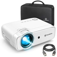 """VANKYO Leisure 430 Mini Movie Projector, Video Projector with 50,000 Hours LED Lamp Life, 236"""" Display, Support 1080P, HiFi Built-in Speaker, Compatible with TV Stick, HDMI, SD, AV, VGA, USB"""