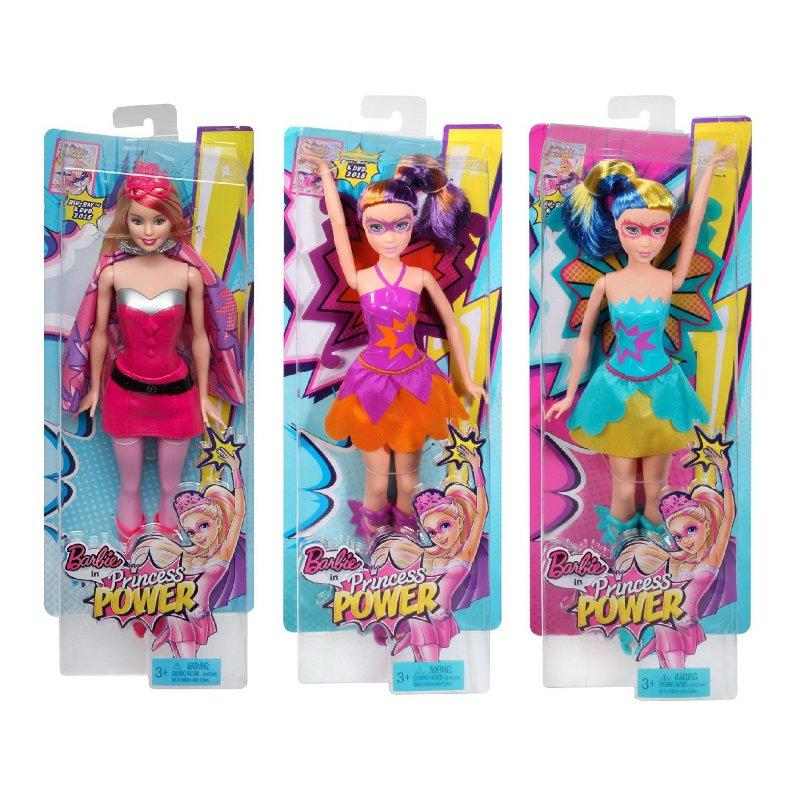 Barbie in Princess Power Super Hero Barbie Doll