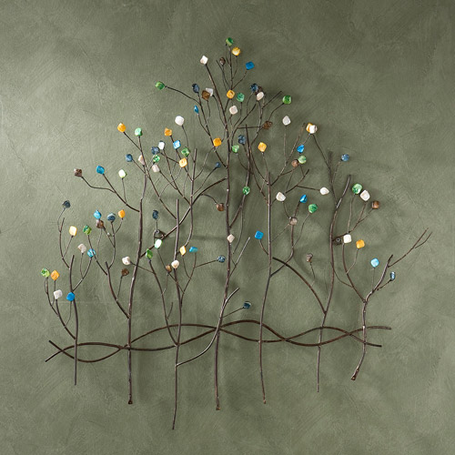 Southern Enterprises Forest of Jewels Wall Sculpture