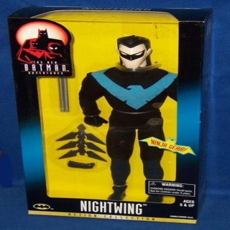 The New Adventures of Batman NIGHTWING 12in Action Collection by