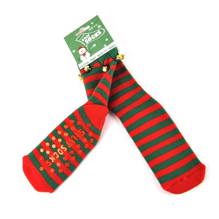 silly socks christmas slipper socks elf boot - Walmart Christmas Socks