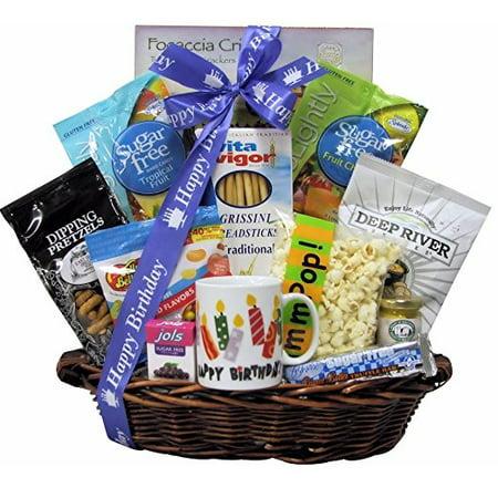 Sugar Free Birthday Celebration Gift Basket
