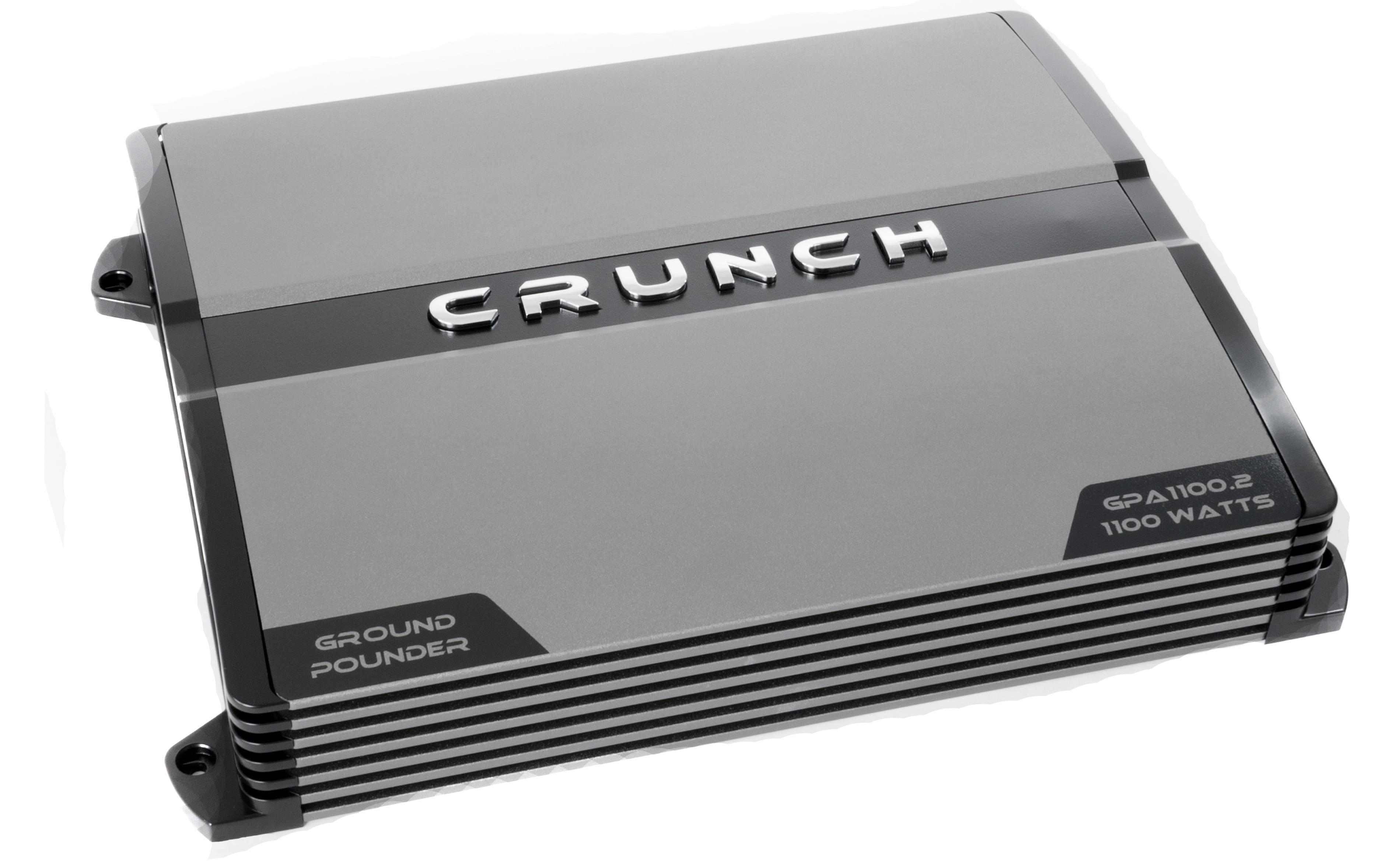 Crunch PX-1000 2 2 Channel 1000 Watt Amp A/B Car Stereo Amplifier + Wiring  Kit