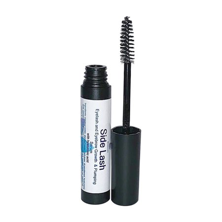 Side Lash By Diva Stuff, New Eyelash and Eyebrow Growth Serum With Hyaluronic Acid, Ginseng Extract, Jamaican Black Castor Oil, Vitamin E and Much (Castor Oil And Vitamin E For Eyelashes)