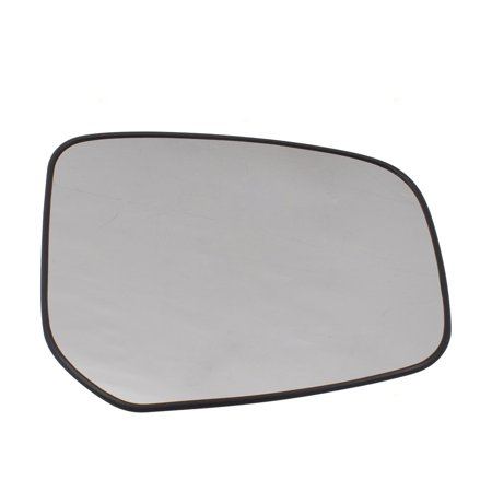 BROCK Side View Mirror Glass w/ Base Passenger Right Replacement for 14-18 Mitsubishi Mirage & 17-18 Mirage G4 7632B600