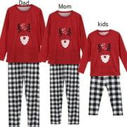 42b3397834 Family Matching Christmas Pajamas PJs Sets Adult Kids Baby Elf Nightwear  Pyjamas