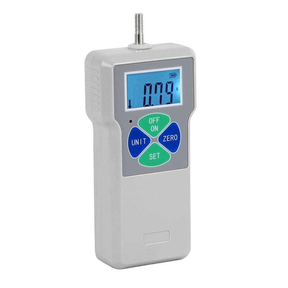 Push und Pull Tester mit 5 Seitenk/öpfen Handwaage Kraftmesser 100 Digitales Dynamometer
