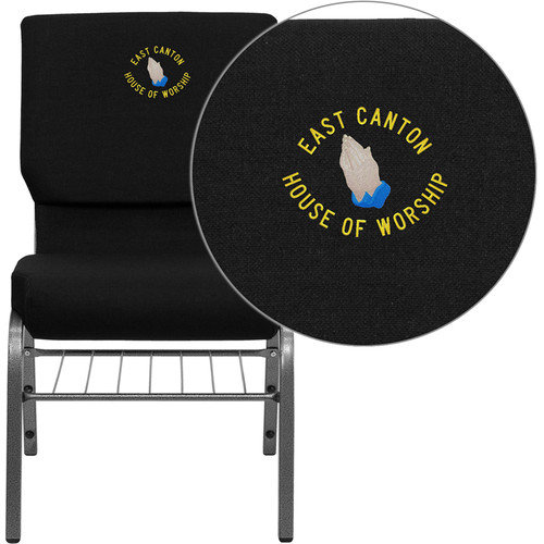 Flash Furniture Hercules Series Personalized Guest Chair