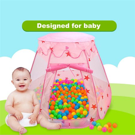 Portable Kids Play Tent Foldable Lovely Kids Tent Girls Boys Indoor