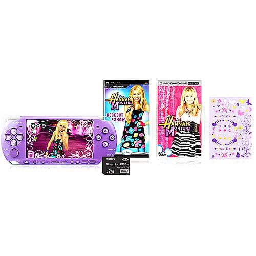 PSP Limited Edition Hannah Montana Pack, Lilac w/ Bonus* MP3 Music Downloads
