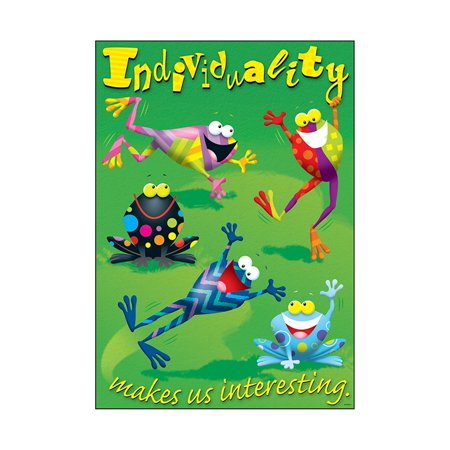 - INDIVIDUALITY MAKES US INTERESTING ARGUS LARGE POSTER