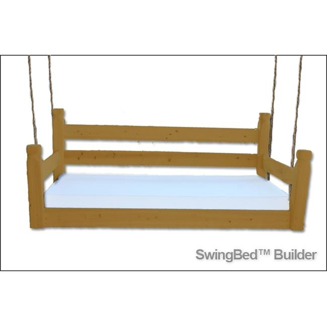 Swing Beds ORG-TWN-STN-LIGHT Original Twin Bed, Light Stain