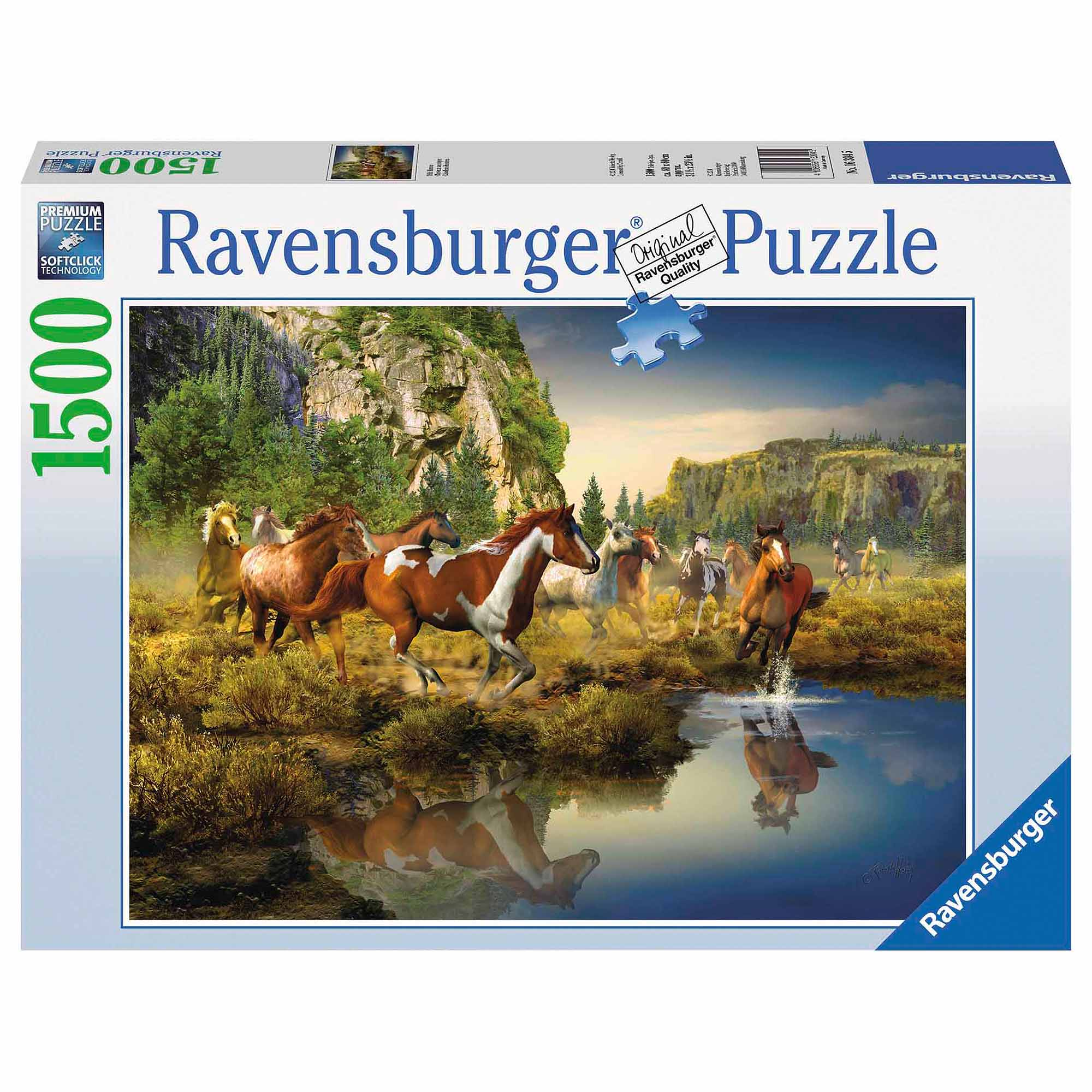 Wild Horses Puzzle, 1,500 Pieces by Ravensburger