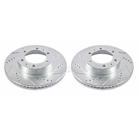 OE Replacement for 2007-2014 Toyota FJ Cruiser Front Disc Brake Rotor Set (Base / Core / Premium / TRD Special Edition / Trail Teams Special Edition)