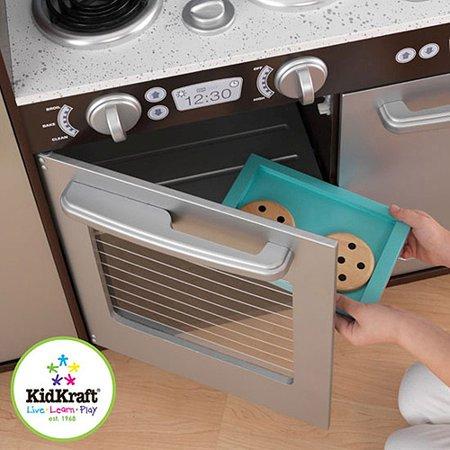 Best KidKraft Uptown Espresso Wooden Play Kitchen deal