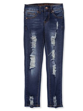 VIP Jeans Girls' Distressed Fade Jeans