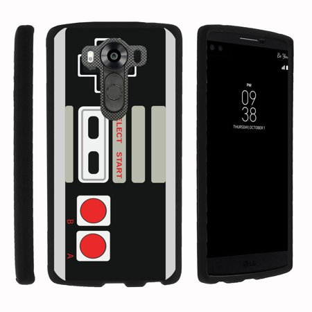 Lg V10   G4 Pro   Snap Shell  Matte Black  2 Piece Snap On Rubberized Hard Plastic Cell Phone Cover With Cool Designs   Game Controller