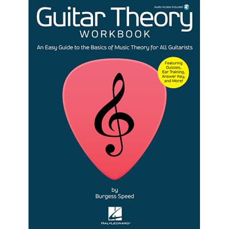 Guitar Theory Workbook : An Easy Guide to the Basics of Music Theory for All