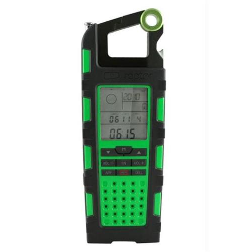 Eton Raptor Solar Charge Radio, Green