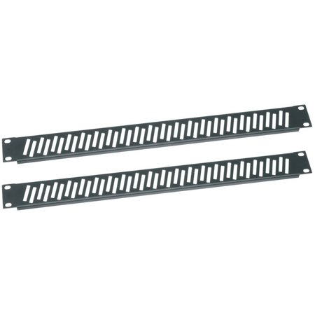 Essex by Middle Atlantic VPANEL-1U-2PK Flanged Vent Rack Panel Pair
