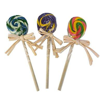 hammonds candy handmade old-fashioned lollipops, pack of 3 - 1 oz