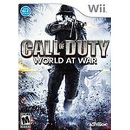 Call of Duty World at War - Nintendo Wii (Refurbished) - War At Warcraft