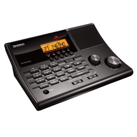 Uniden 500-Channel Alarm Clock Radio Scanner