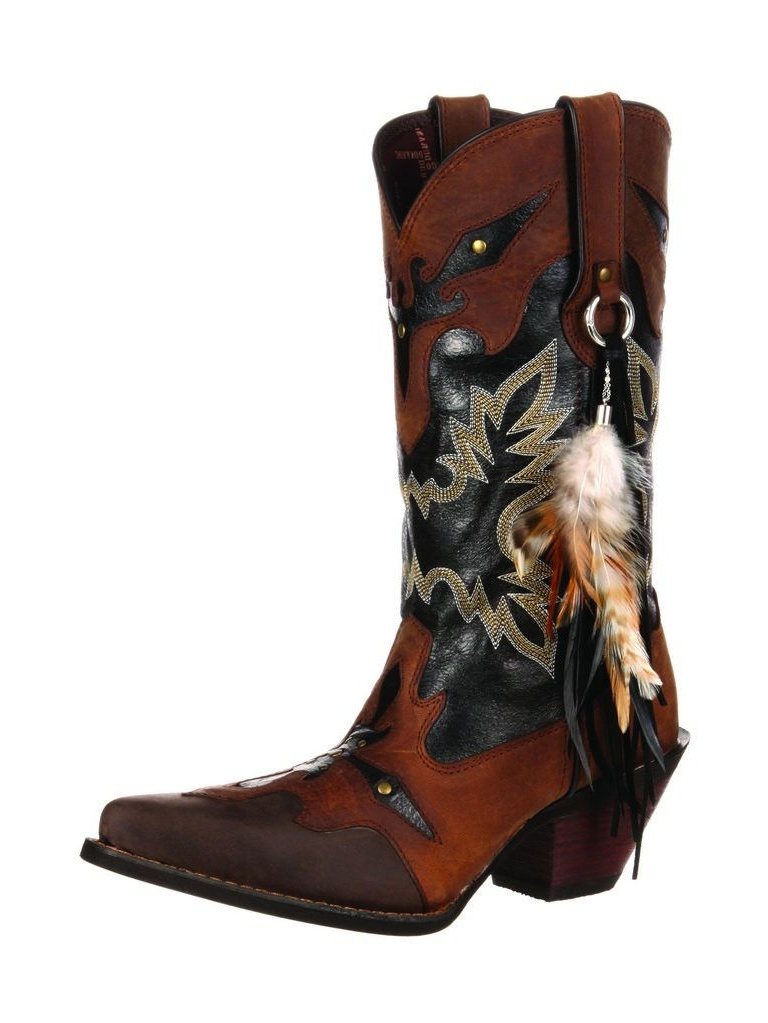 Durango Western Boots Womens Crush Gypsy Underlay Snip Brown DRD0065 by Durango