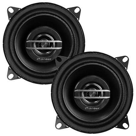 """Pioneer TS-G1020S - G-Series 4"""" 210-Watt 2-Way Coaxial Speakers"""