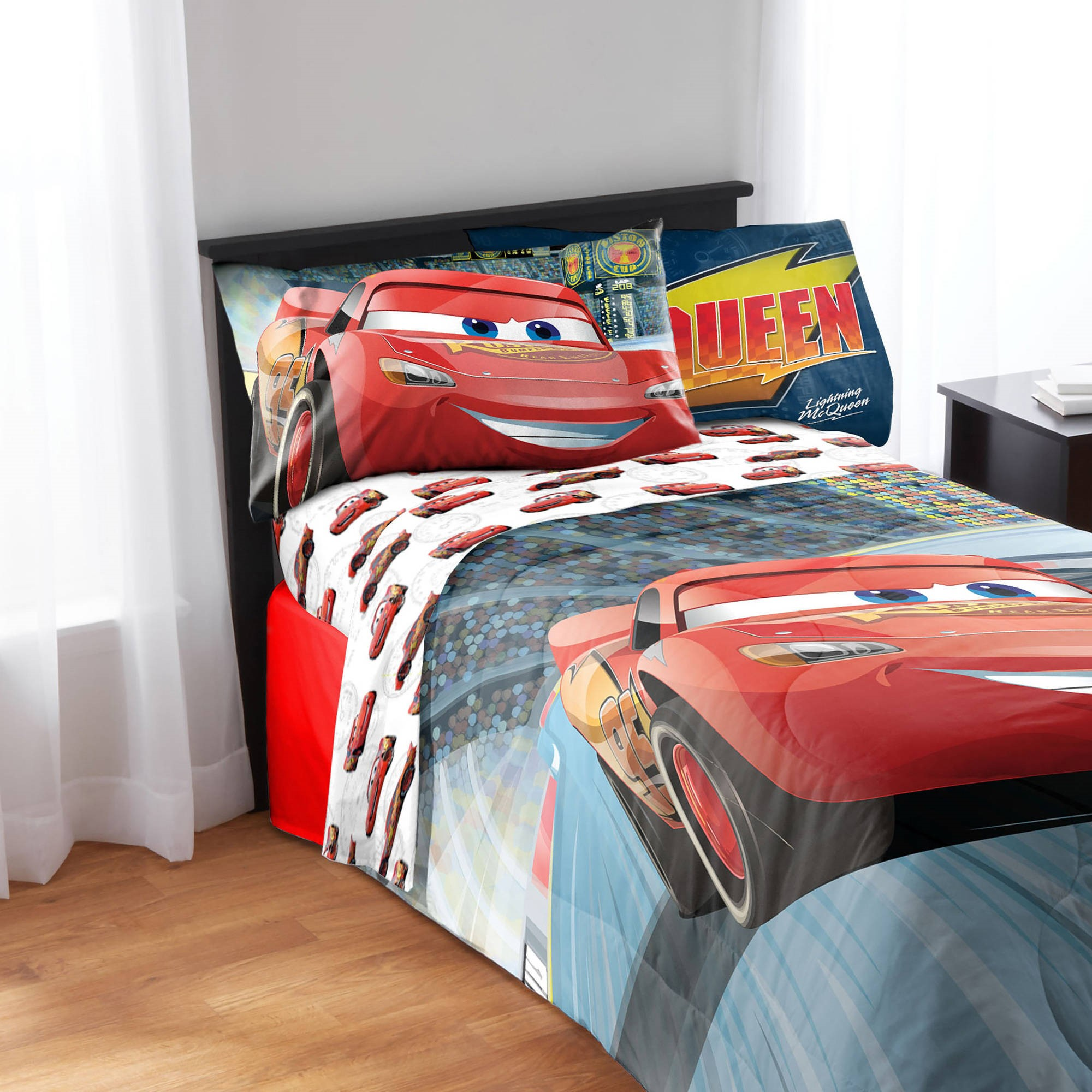 Disney Cars Full Sheet Set, Kid's Bedding - Walmart.com