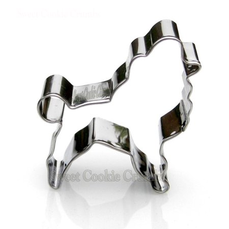 Poodle Dog Cookie Cutter- Stainless Steel