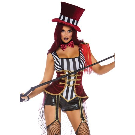 Leg Avenue Womens Daring Lion Tamer - Lion Tamer Costume Female
