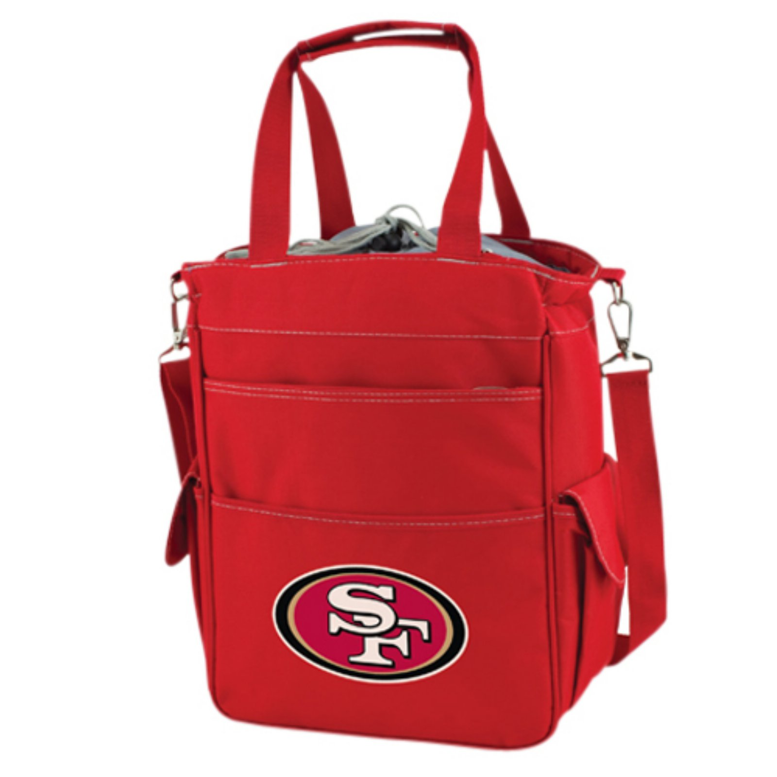 Picnic Time Activo, Black San Francisco 49ers Digital Print