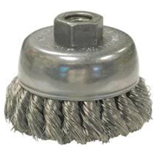 Anderson Brush 066-22780 0.31 in. Miniature Wire Carbon Steel End Brush