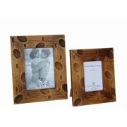 Sunshine Trading ST-31-7 Handmade Wood Photo Frame - 5 x 7 Inch