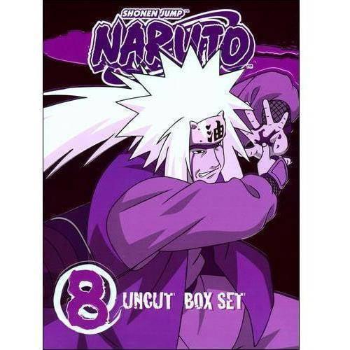 Naruto Uncut Box Set, Vol. 8 (Special Edition)