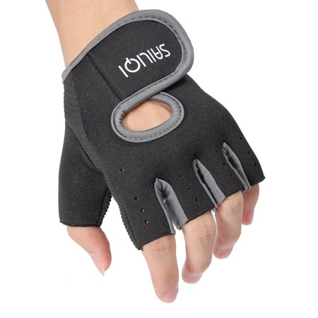 Sports Fitness Training Weightlifting Slip Boating Half Finger Glove  - image 8 of 8