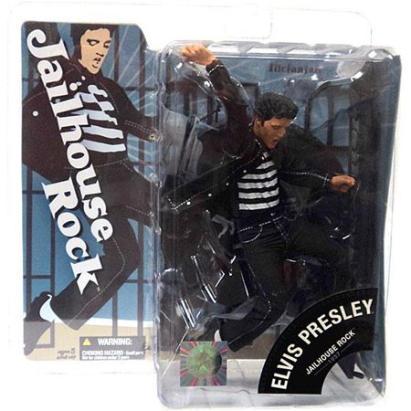 McFarlane Toys Jailhouse Rock Elvis Presley Action Figure - Rock Toys