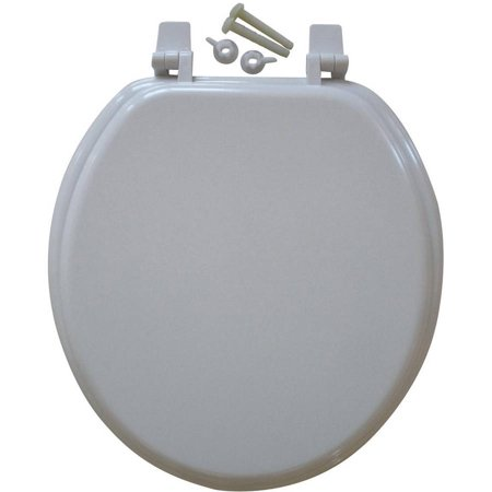 mainstays 17 molded wooden toilet seat