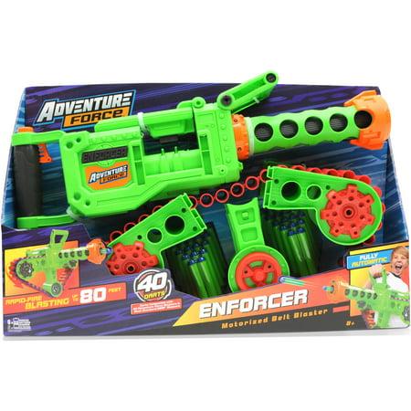 Adventure force enforcer belt blaster best nerf for Nerf motorized rapid fire blasting